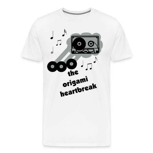The Origami Heartbreak Whatever Happened to Tape Cassettes? - Men's Premium T-Shirt