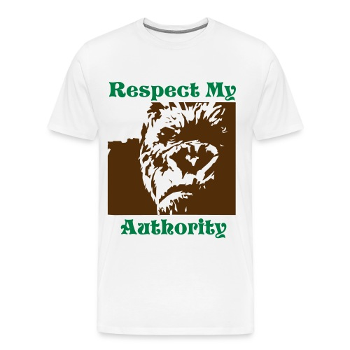 Faction Respect My Authority tee - Men's Premium T-Shirt