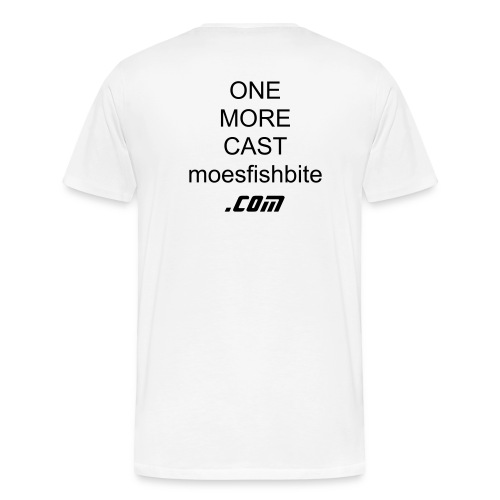 ONE MORE CAST T-Shirt - Men's Premium T-Shirt