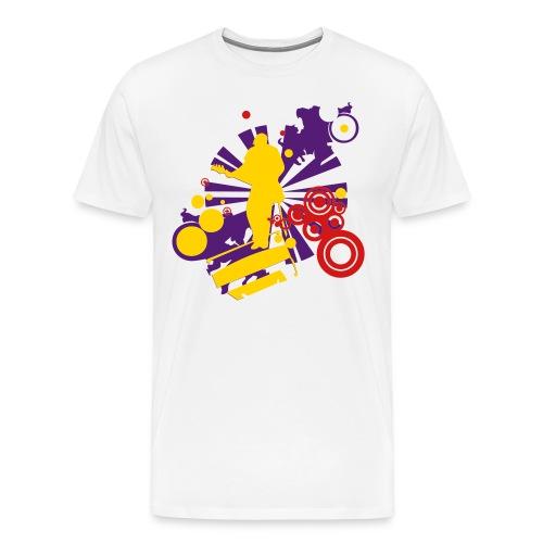 Rockstar Tee3 - Men's Premium T-Shirt