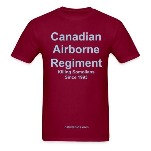 Canadian Airborne - Men's T-Shirt