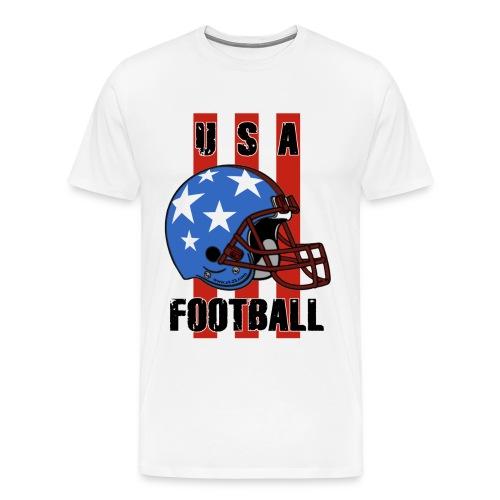 USA football t-shirt - Men's Premium T-Shirt