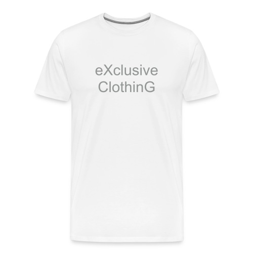 eXclusive Clothing T-shirt - Men's Premium T-Shirt