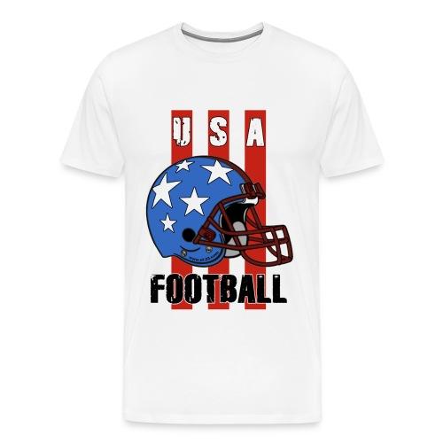 USA football shirt - Men's Premium T-Shirt