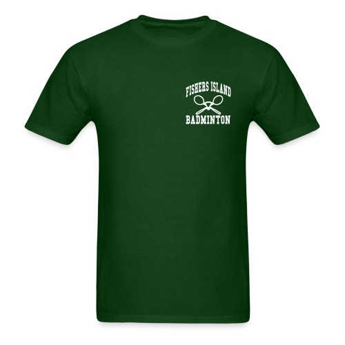 Fishers Island Badminton - Men's T-Shirt