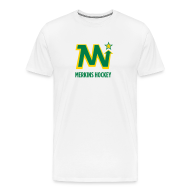 T-Shirts ~ Men's Premium T-Shirt ~ Men's Merkins White