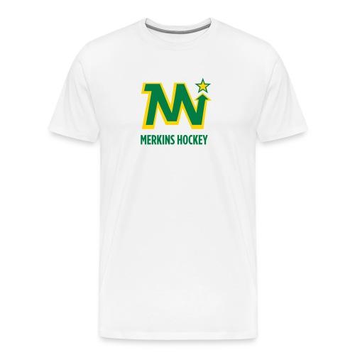 Men's Merkins White - Men's Premium T-Shirt