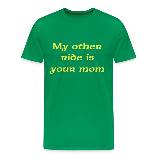 My other ride tee - Men's Premium T-Shirt