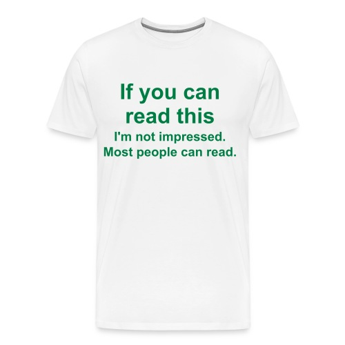 Read This - Men's Premium T-Shirt