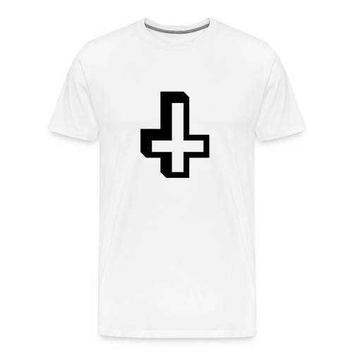 Upside Down Cross - Men's Premium T-Shirt