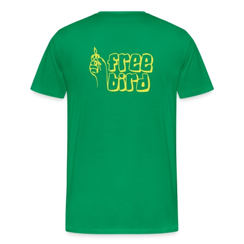 Men's Premium T-Shirt - RECYCLE KNOWLEDGE TEE