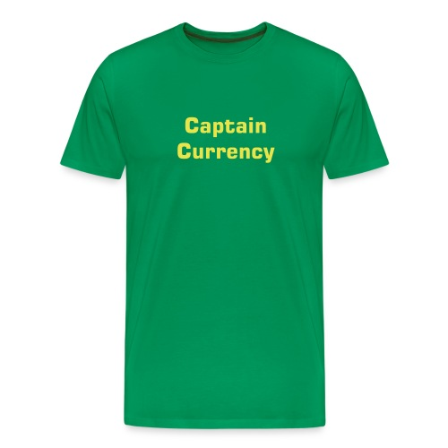 Captain Currency - Men's Premium T-Shirt
