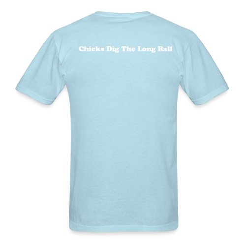 Light Blue/White - Men's T-Shirt