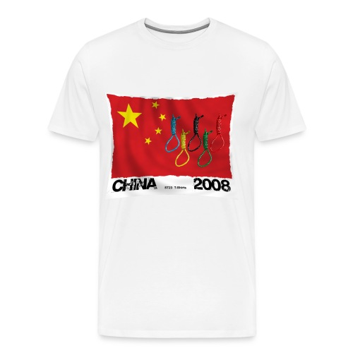 2008 china t-shirt - Men's Premium T-Shirt