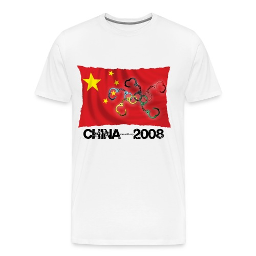 beijing 2008 (china t-shirt) - Men's Premium T-Shirt