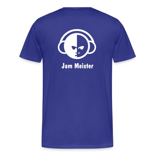 Men's Heavyweight T-shirt, DJ, Jam Meister - Men's Premium T-Shirt