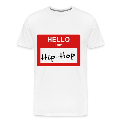 Hip-Hop Tee XXXL - Men's Premium T-Shirt