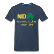 T-Shirts ~ Men's Premium T-Shirt ~ Returning To Glory - Blue