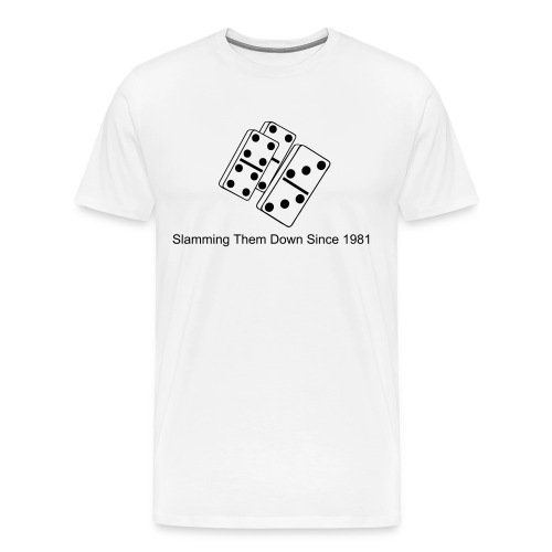 Slamming Bones - Men's Premium T-Shirt