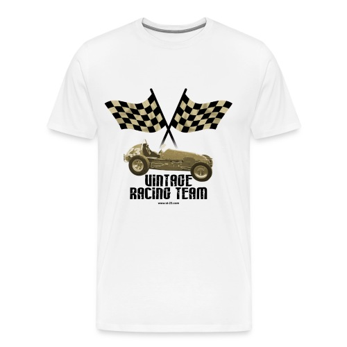 Vintage racing car - Men's Premium T-Shirt