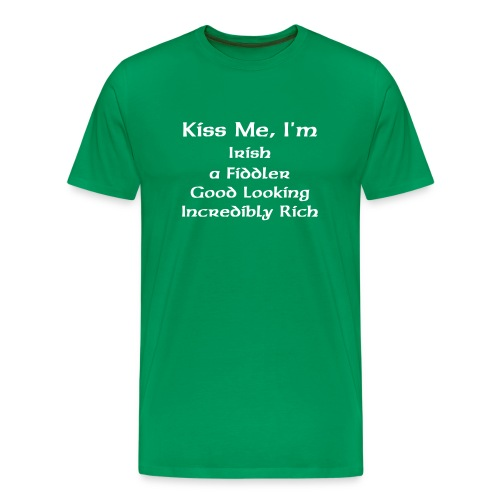 Kiss Me! Shirt - Men's Premium T-Shirt