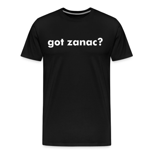 got zanac? tee - Men's Premium T-Shirt