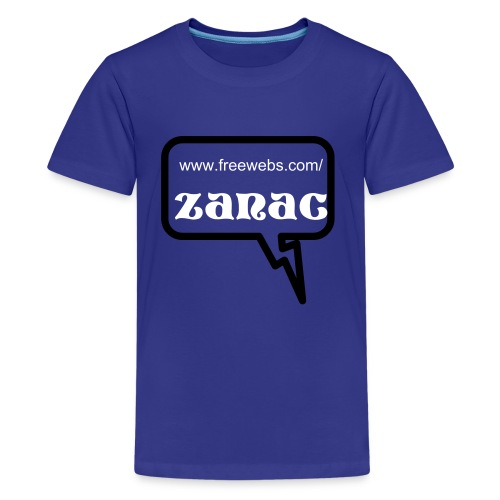 speech bubble zanac tee - Kids' Premium T-Shirt
