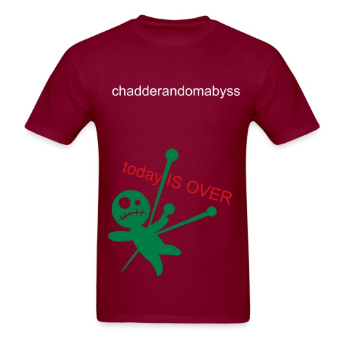 Chadderandom Abyss Today is Over Voodoo Doll - Men's T-Shirt