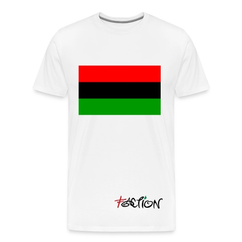 Red Black and Green Faction tee - Men's Premium T-Shirt