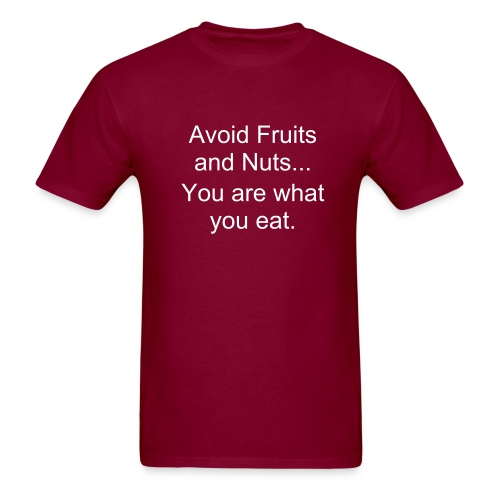 Fruits and Nuts - Men's T-Shirt