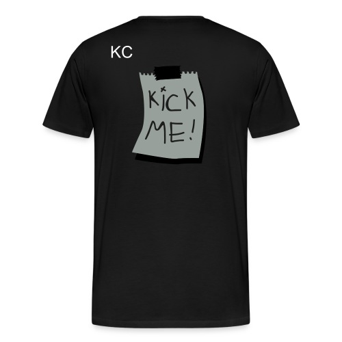 Kick Me - Men's Premium T-Shirt
