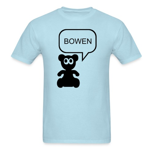 Heavy Cotton Bowen Bear T - Men's T-Shirt