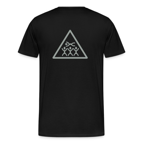 T-shirt metal - T-shirt premium pour hommes