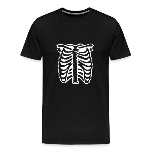 White Ribcage - Men's Premium T-Shirt