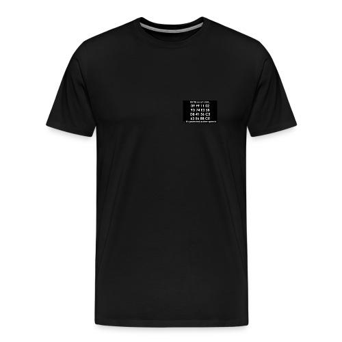 HD DVD Key shirt 4 of 5 - Men's Premium T-Shirt
