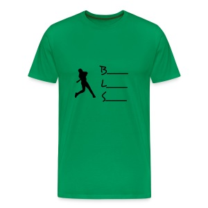 kelly green w/o number - Men's Premium T-Shirt