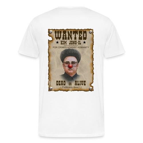 wanted criminal - Men's Premium T-Shirt