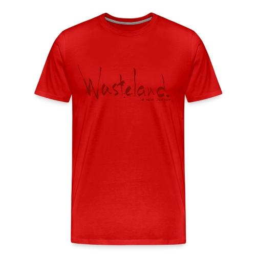 Wasteland: New Jersey [logo Tee] - Men's Premium T-Shirt
