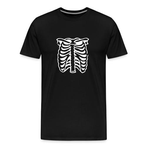 guys' ribcage tee - Men's Premium T-Shirt