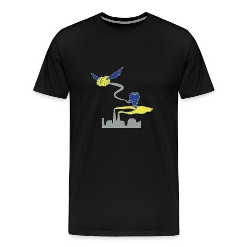 Guy's Alien T-Shirt - Men's Premium T-Shirt