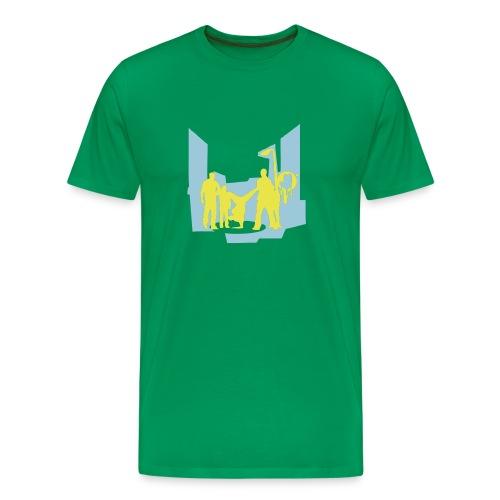 Green urban t-shirt - Men's Premium T-Shirt