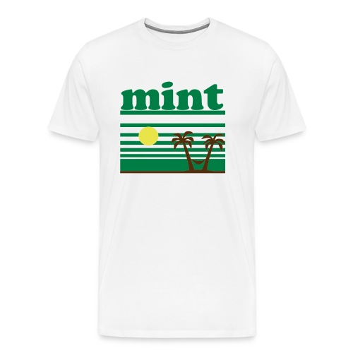 summer mint - Men's Premium T-Shirt