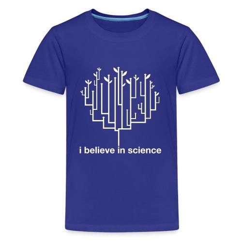 Kid's Tree of Life: Royal Blue - Kids' Premium T-Shirt