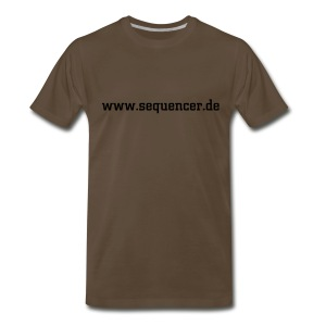 seq oliv SW - Men's Premium T-Shirt