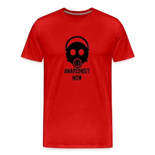 Red Anarchist Now - Men's Premium T-Shirt