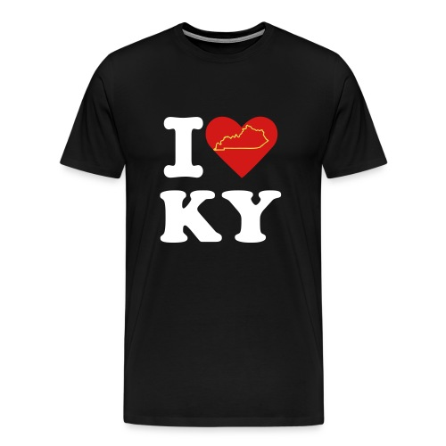 I (heart) KY - Men's Premium T-Shirt