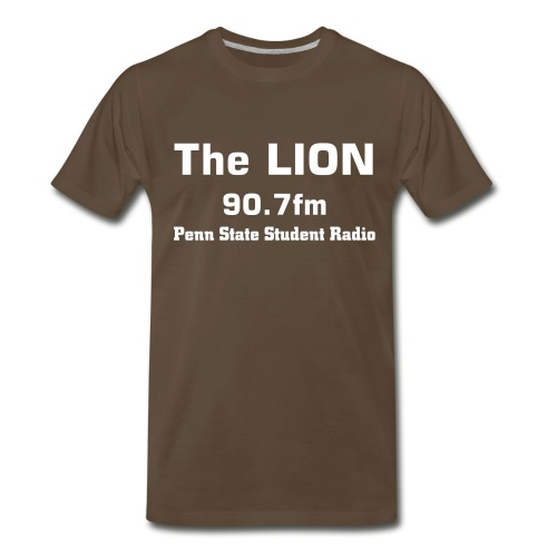 The LION Brown Tee - Men's Premium T-Shirt