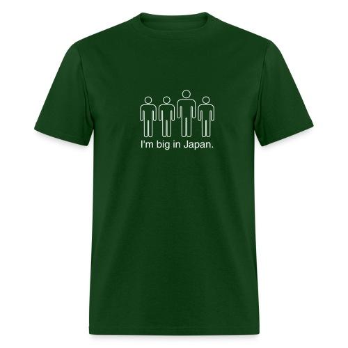 I'm Big In Japan (Green) - Men's T-Shirt