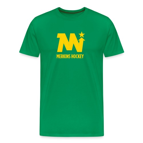 Men's Merkins Green - Men's Premium T-Shirt