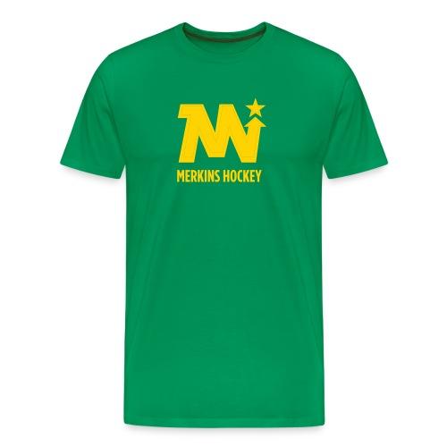 Men's Merkins Green - Men's Premium T-Shirt